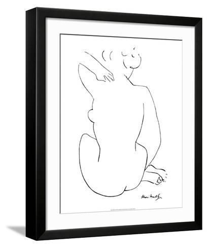 Black Sketch-Henri Matisse-Framed Art Print