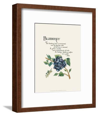 Blueberry-G^ Phillips-Framed Art Print