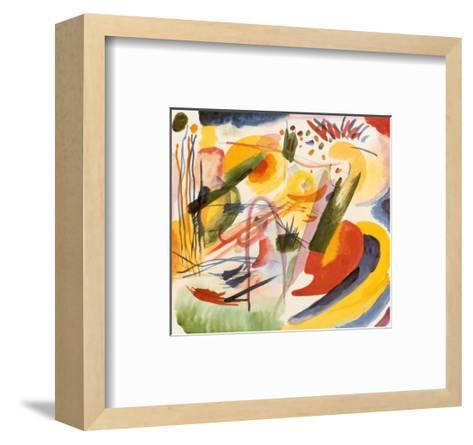 Without Title-Wassily Kandinsky-Framed Art Print