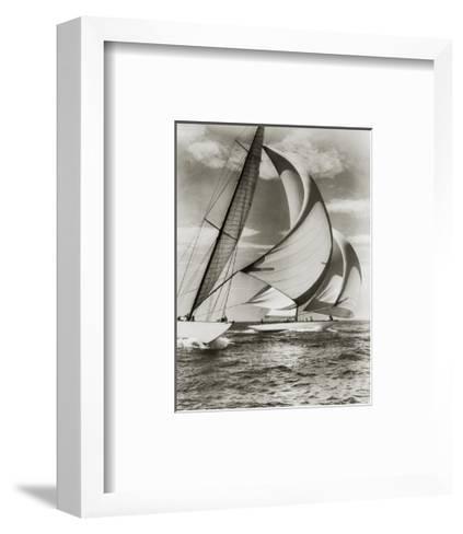 Zio and Nightwind--Framed Art Print