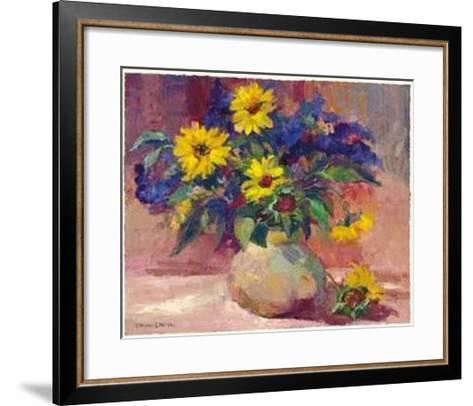Sunflowers-Dawna Barton-Framed Art Print