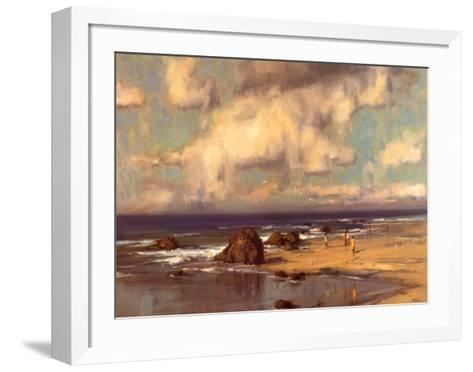 Along the Shore-Scott Christensen-Framed Art Print