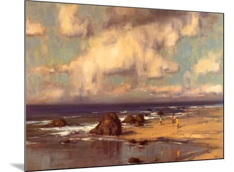 Along the Shore-Scott Christensen-Mounted Art Print