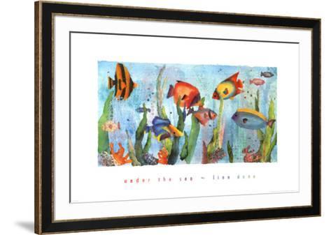 Under the Sea-Linn Done-Framed Art Print