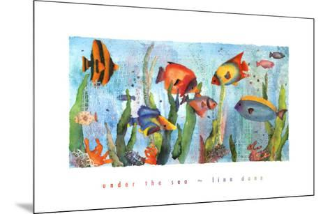 Under the Sea-Linn Done-Mounted Art Print