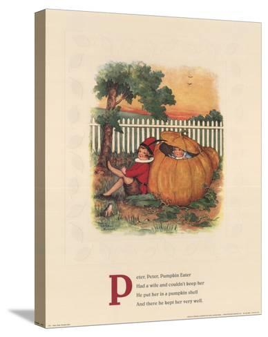 Peter, Peter Pumpkin Eater-Mary LaFetra Russell-Stretched Canvas Print