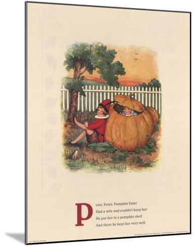 Peter, Peter Pumpkin Eater-Mary LaFetra Russell-Mounted Art Print