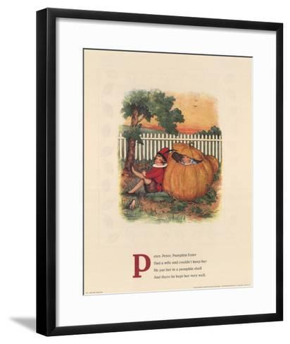 Peter, Peter Pumpkin Eater-Mary LaFetra Russell-Framed Art Print