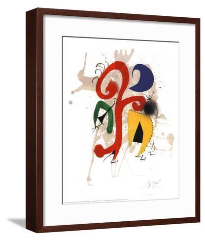 Abstract-Joan Mir?-Framed Art Print