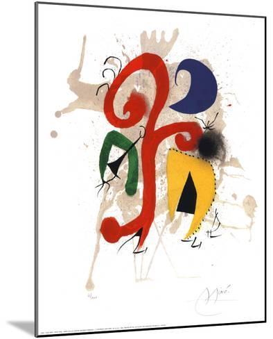 Abstract-Joan Mir?-Mounted Art Print