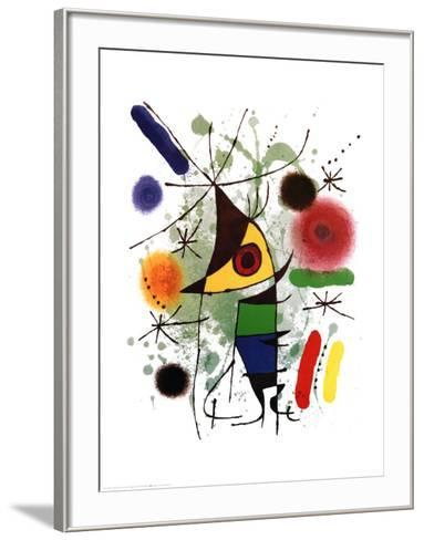 The Singer-Joan Mir?-Framed Art Print