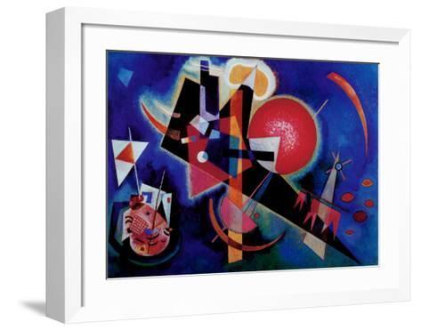Blue-Wassily Kandinsky-Framed Art Print