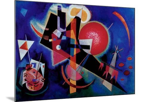 Blue-Wassily Kandinsky-Mounted Art Print