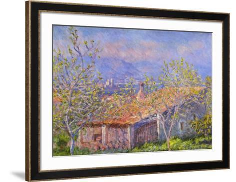 Antibes-Claude Monet-Framed Art Print