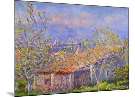 Antibes-Claude Monet-Mounted Art Print