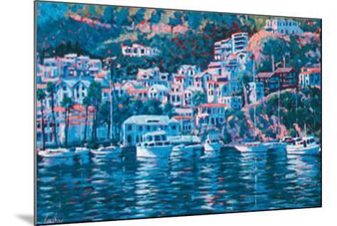 Harbor Reflections-John Cosby-Mounted Art Print