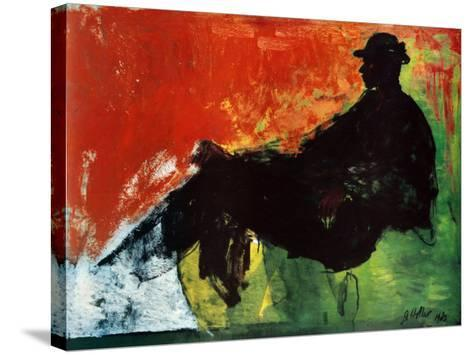 Tempo-Geoffrey Holder-Stretched Canvas Print