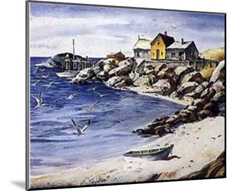 Surf Sand and Rocks-Henry Gasser-Mounted Art Print