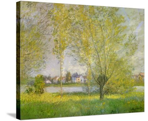 Willows of Vetheuil-Claude Monet-Stretched Canvas Print