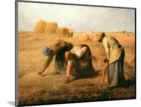 The Gleaners, 1857-Jean-Fran?ois Millet-Mounted Art Print