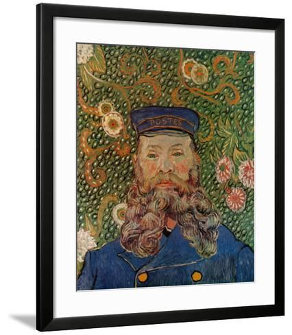 Portrait of the Postman Joseph Roulin, c.1889-Vincent van Gogh-Framed Art Print