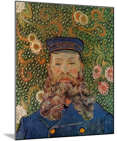 Portrait of the Postman Joseph Roulin, c.1889-Vincent van Gogh-Mounted Art Print