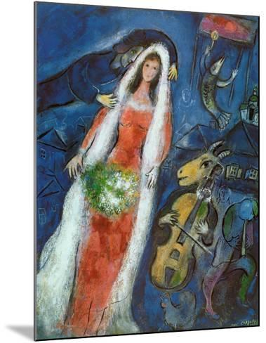 La Mariee Art Print by Marc Chagall | Art.com