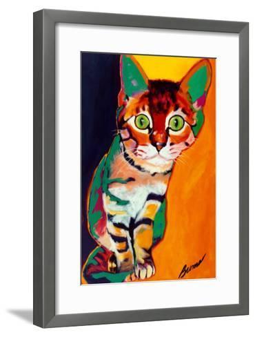 Tiger-Ron Burns-Framed Art Print