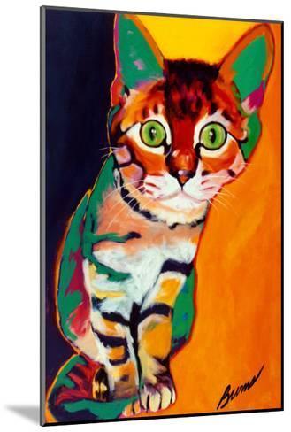 Tiger-Ron Burns-Mounted Art Print