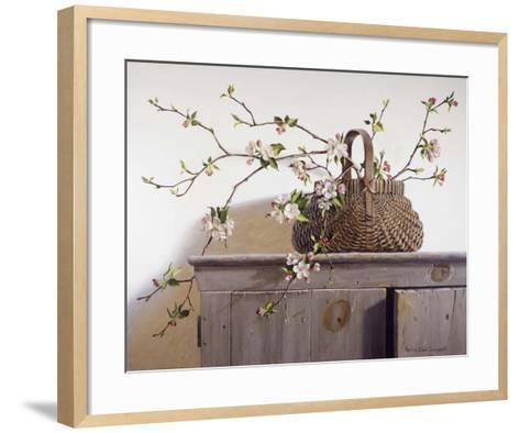 Apple Blossoms-Pauline Ebl? Campanelli-Framed Art Print