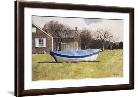 On Waves of Grass-Ray Ellis-Framed Art Print