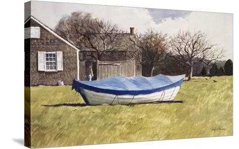 On Waves of Grass-Ray Ellis-Stretched Canvas Print