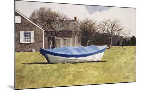 On Waves of Grass-Ray Ellis-Mounted Art Print