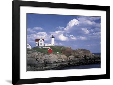 Cape Neddick Light-William Neill-Framed Art Print