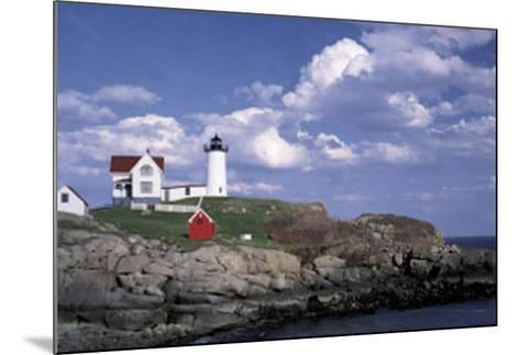 Cape Neddick Light-William Neill-Mounted Art Print