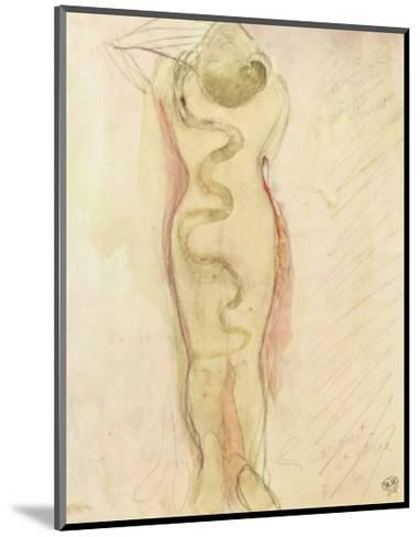 Serpent Et Eve-Auguste Rodin-Mounted Art Print