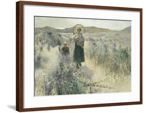 Maternite-George Hitchcock-Framed Art Print