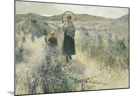 Maternite-George Hitchcock-Mounted Art Print