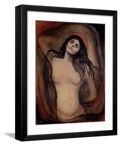 Madonna, c.1895-Edvard Munch-Framed Art Print