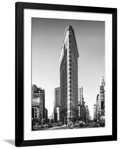Flatiron Building, New York-Henri Silberman-Framed Art Print