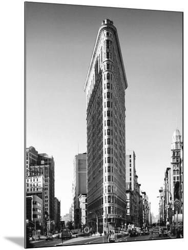 Flatiron Building, New York-Henri Silberman-Mounted Art Print