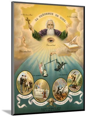 Allgegenwart Gottes--Mounted Art Print