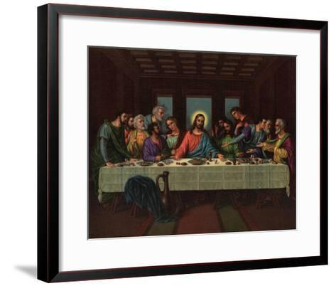 Heilige Abendmaheilige--Framed Art Print