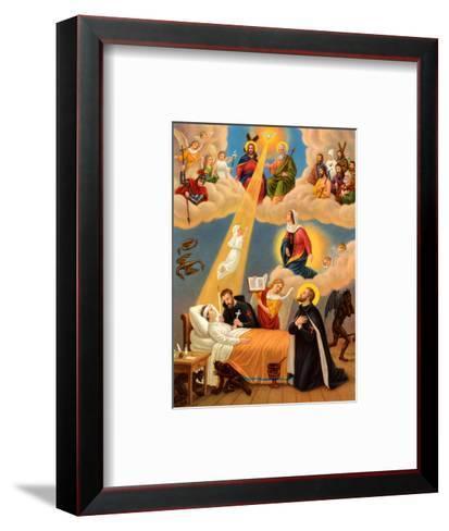 Heilige Camillus von Lelis--Framed Art Print