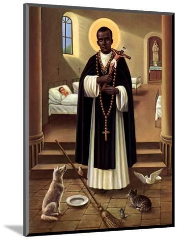 Heilige Martin von Porres--Mounted Art Print