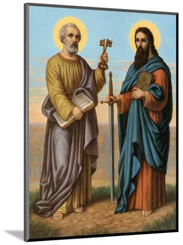 Heilige Peter und Heilige Paul--Mounted Art Print