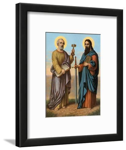 Heilige Peter und Heilige Paul--Framed Art Print