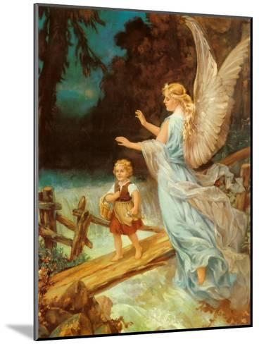 Heilige Schutzengel--Mounted Art Print
