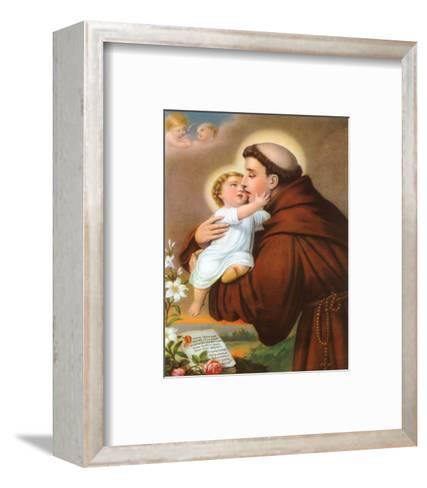 Heiliger--Framed Art Print