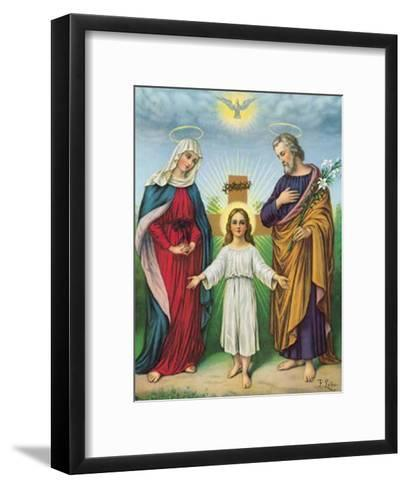 Jesus Maria Joseph--Framed Art Print